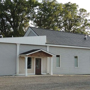 Rustic Shingle Metal Roof - Shake Gray