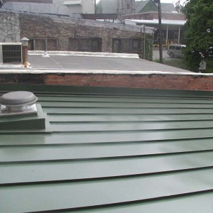 Centurion Standing Seam Metal Roof - Sherwood Green