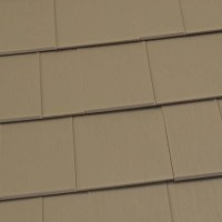Oxford Shingle Metal Roof - Buckskin Brown