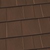 Oxford Shingle Metal Roof - Caramel Brown