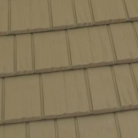 Rustic Shingle Metal Roof - Buckskin Brown