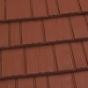 Rustic Shingle Metal Roof - Terra Red