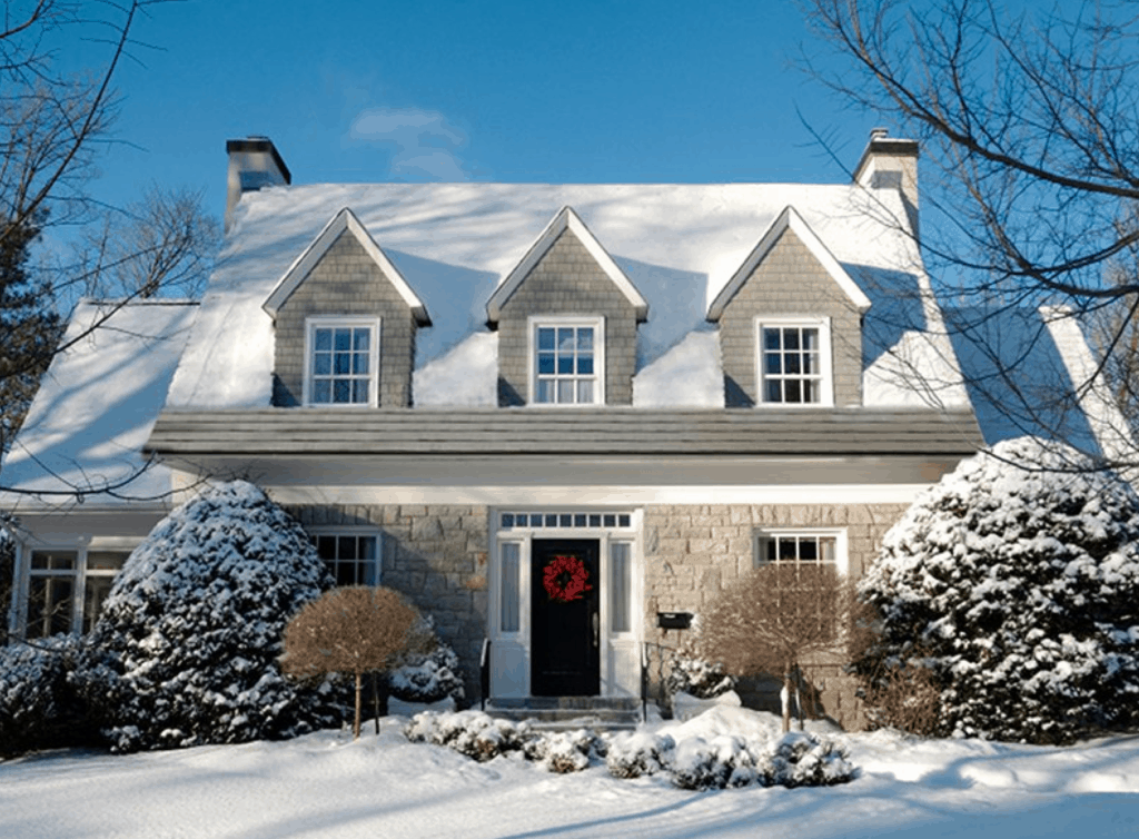 Metal roofing the choice is yours american metal roofs for Snow loads on roofs