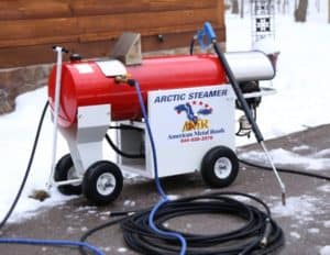 ice removal steam machine
